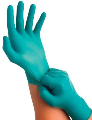 Size 8.5-9 Nitrile Touch N Tuff Disposable Gloves