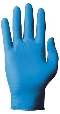 Medium TNT Blue Disposable Nitrile Gloves