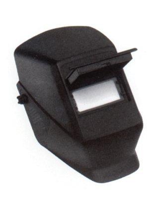 Black Thermoplastic W10 HSL 2 Passive Welding Helmet
