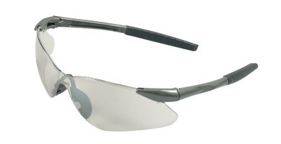 Gunmetal Frame Clear Lens V30 Nemesis Safety Eyewear