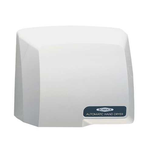 Gray Plastic Compact Automatic Hand Dryer