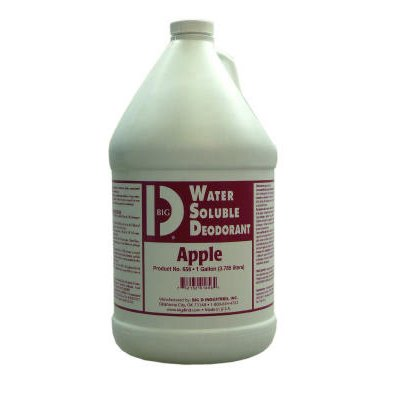 Apple Scented, Water Soluble Deodorant-1 Gallon