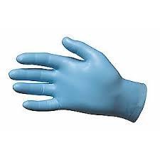 N-Dex Large Lightly Powdered Disposable Nitrile Gloves