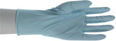 "9-1/2"" Large Disposable Nitrile Gloves"