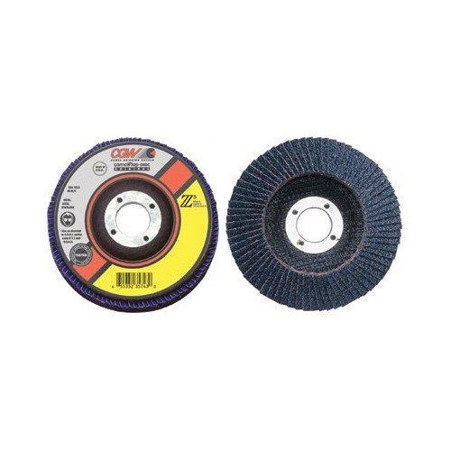 "4-1/2"" Z3 100% Zirconia Abrasive Flap Disc w/ 40 Grit, XL"