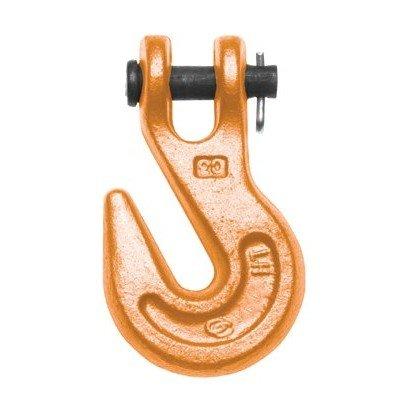 437 Series Orange Clevis Grab Hooks