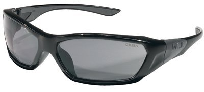 Black Frame Grey Lens ForceFlex Protective Eyewear
