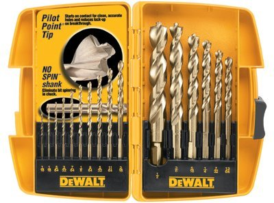 "16 Piece Pilot Point Set w/ 1/2"" Bit in Tough Case"
