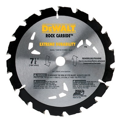 "7-1/4"" 18 Teeth Nail Cutting Circular Saw Blade"