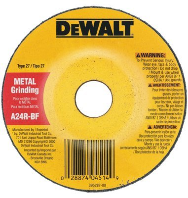 "4-1/2"" x 1/8"" x 7/8"" General Purpose Metal Cutting Wheel"
