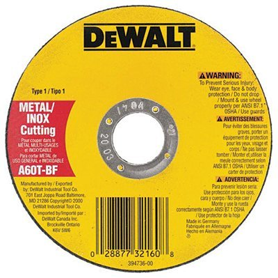 "5"" x .045"" x 7/8"" Metal Thin Cut-Off Wheel"
