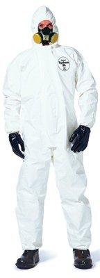 XLarge White DuPont Tychem SL Coveralls