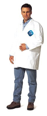 2X-Large White DuPont Tyvek Lab Coat