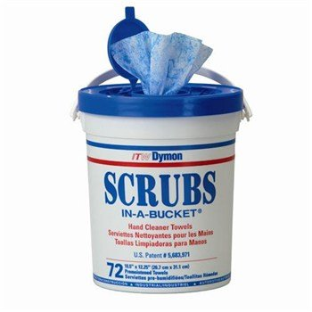 Scrubs Disposable Hand Cleaner Towels