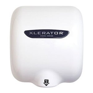 Automatic Xlerator Hand Dryer, White Thermoset Resin Cover