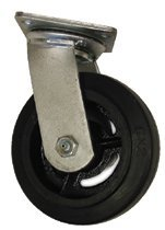 "4X2"" Rubber Medium Heavy Duty Casters"