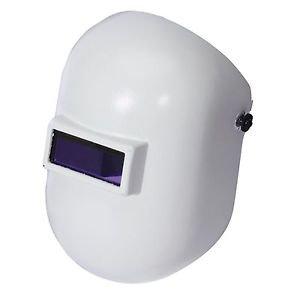 White Pipeliner Welding Helmet