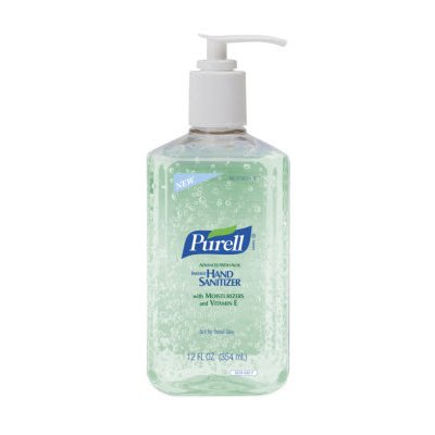 Advanced With Aloe Instant Hand Sanitizer, 12oz Pump Bottle