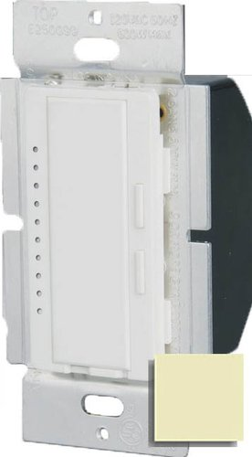 600W Ivory 3-Way Intelligent Dimmer W/ LED Locator