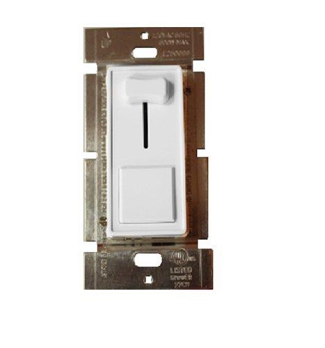 3-Way 600W Incandescent Slide Dimmer, White