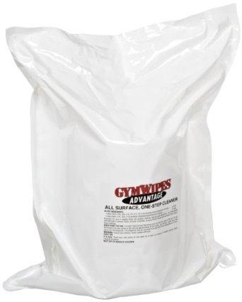 Gym Wipes Advantage Formula Refill Bag, 4, 700 Ct
