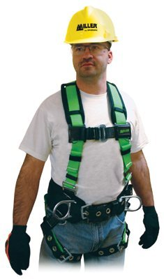 Universal Green Polyester Contractor Harness