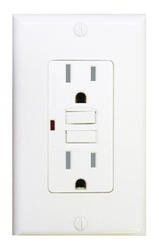 15-Amp Weather Resistant (WR) & Tamper Resistant (TR) GFCI, White