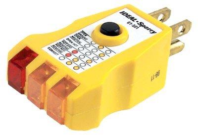125.00 Volt High Performance GFCI Circuit Tester