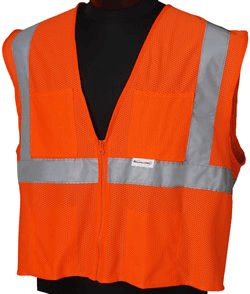 XL/2X-Large ANSI Class 2 Deluxe Style Vests