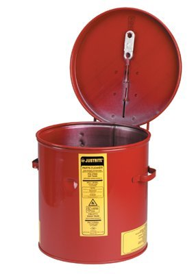 3-1/2 gal Red 24-gauge Premium Coated Steel Dip Tank