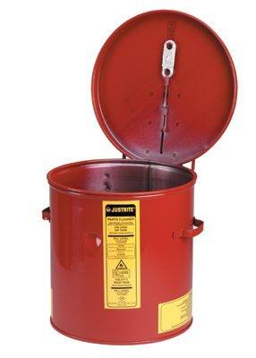 3-1/2 gal Red 24-gauge Premium Coated Steel Dip Tank