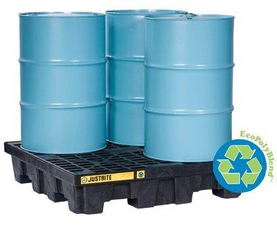 75 gal EcoPolyBlend Spill Control Pallets