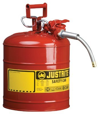 "5 Gallon Diesel Yellow Safety Can Type II AccuFlow 1"" Hose"