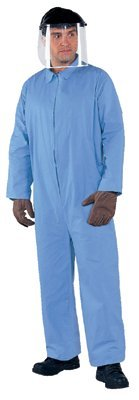 2x-Large Blue A65 Flame Resistant Coveralls