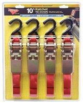 8' Ratchet Tie-Down Straps