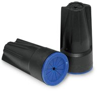 DryConn Black/Blue Waterproof Wire Connectors, Pack of 50