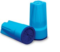DryConn Waterproof Wire Connectors, Aqua/Blue, Pack of 15