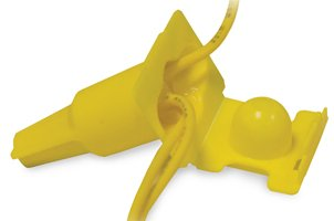 DryConn Direct Bury Yellow Twist-On w/Strain Relief, Pack of 10