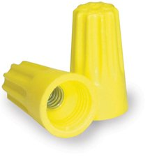 Contractor Choice Yellow Wire Connector, Pack of 100