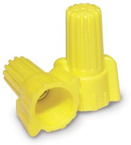 Contractor Choice Yellow Wing Wire Connector, Pack of 500