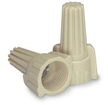 Contractor Choice Tan Wing Wire Connector, Pack of 100