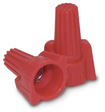 Contractor Choice Red Wing Wire Connector, Pack of 100