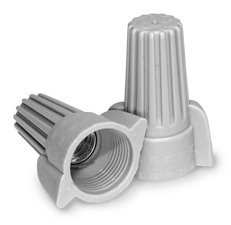 Contractor Choice Gray Wing Wire Connector, Pack of 50