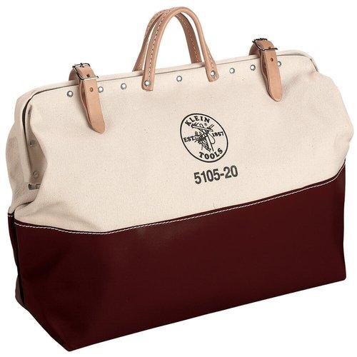 20'' High-Bottom Canvas Tool Bag