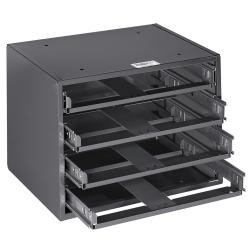4-Box Slide Rack Storage for Mid Size Boxes