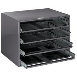4-Box Slide Rack Storage for Extra Large Boxes