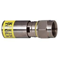 Universal F Compression Connector - RG6/6Q (50-Pack)