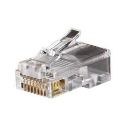Modular Data Plug - RJ45 - CAT5e, 100-Pack