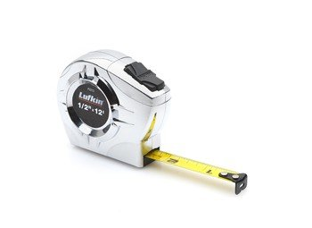 "1/2""X12' P2000 Series Chrome Tape Measure"