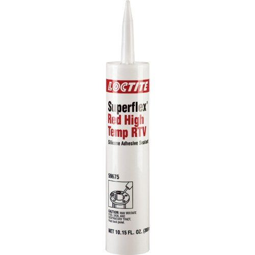 300 mL Superflex Red High Temperature Silicone Sealant